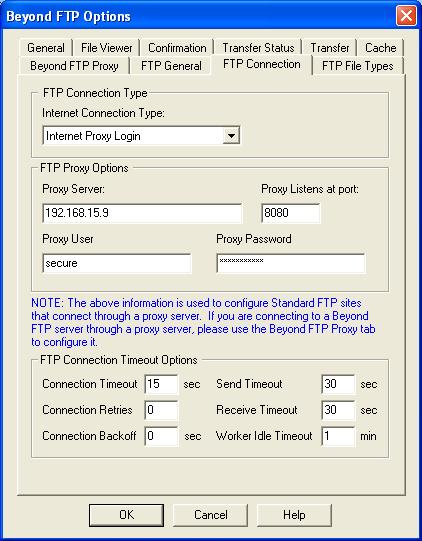 Beyond FTP Help